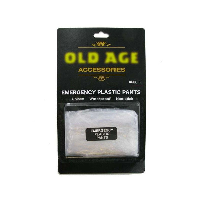 Old Age Emergency Plastic Pants