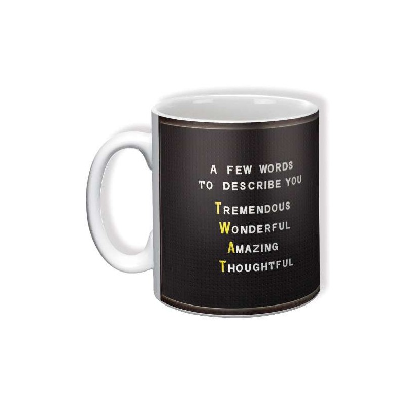 A Few Words To Describe You (Twat) - Mug