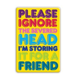 Fridge Magnet - Please...