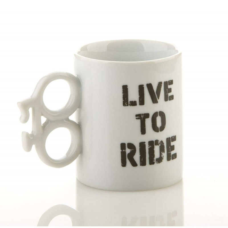 Bike Mug - Live To Ride