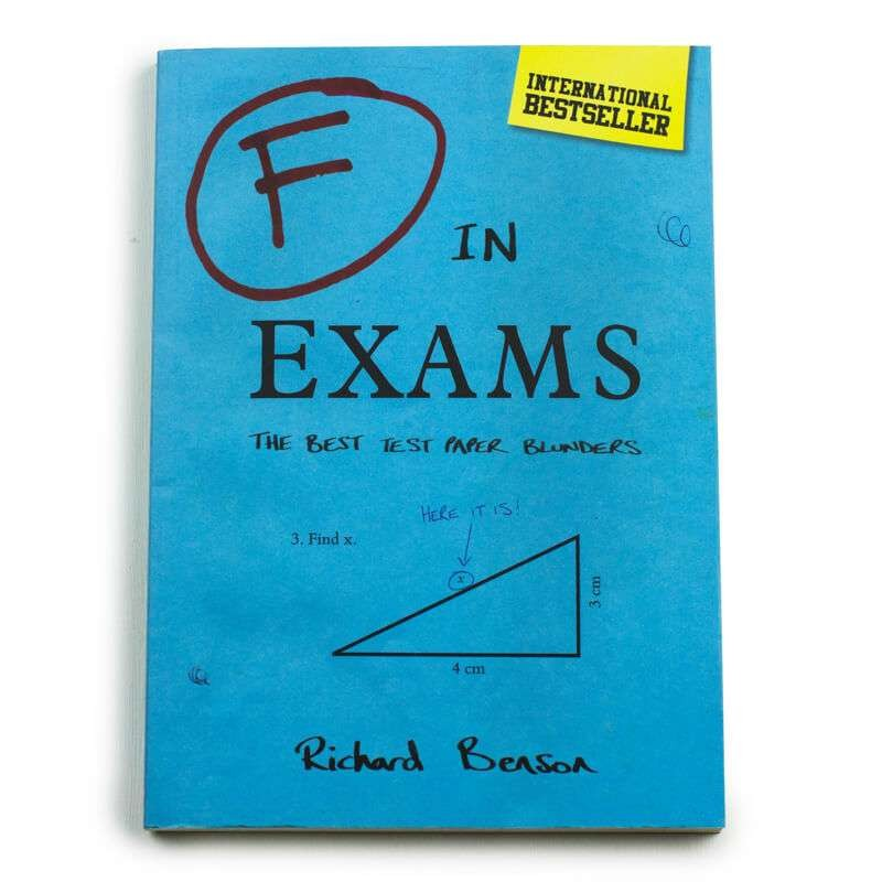 F In Exams: Test Paper Blunders