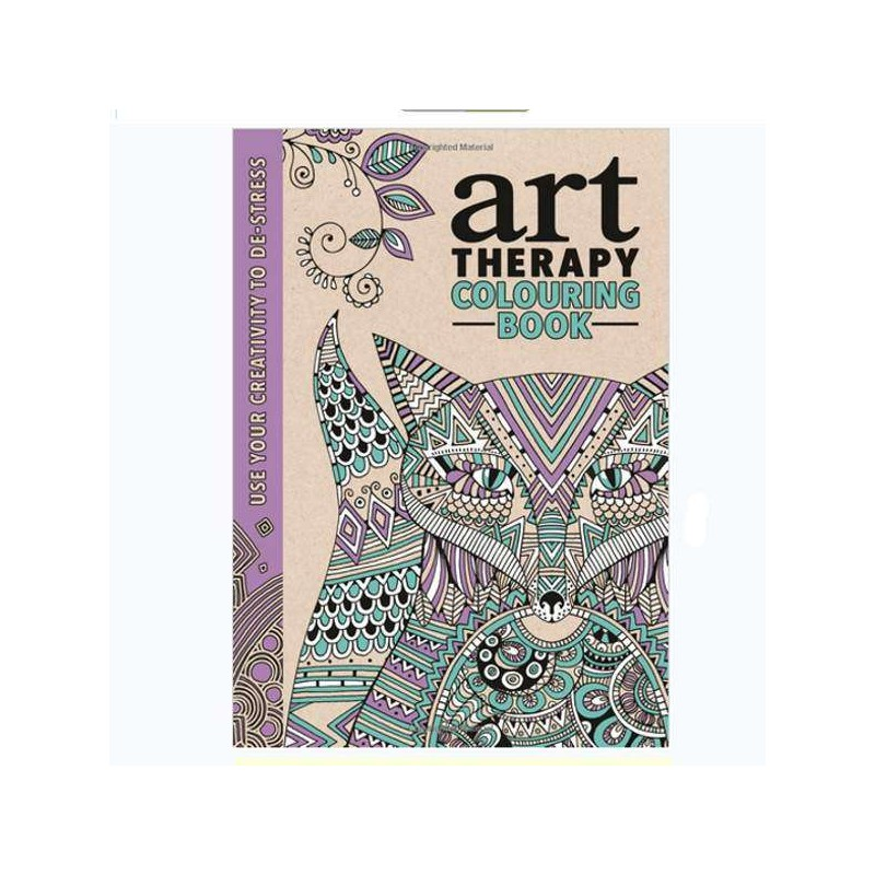 Art Therapy - Adult Colouring Book