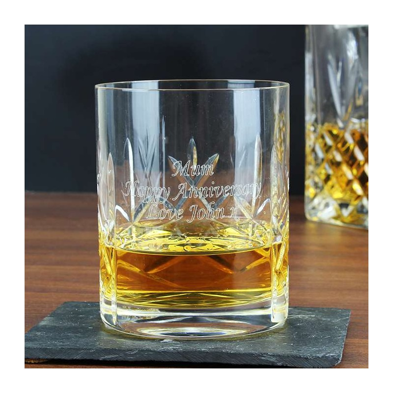 Personalised - Crystal Whisky Tumbler
