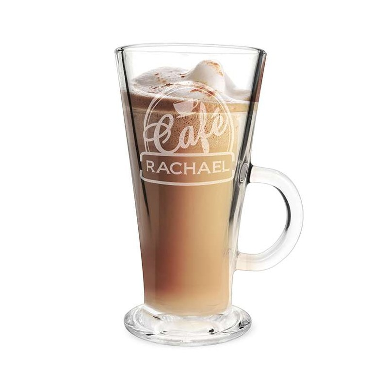 Personalised - Bistro Latte Glass
