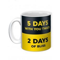 Work vs Life - Mug