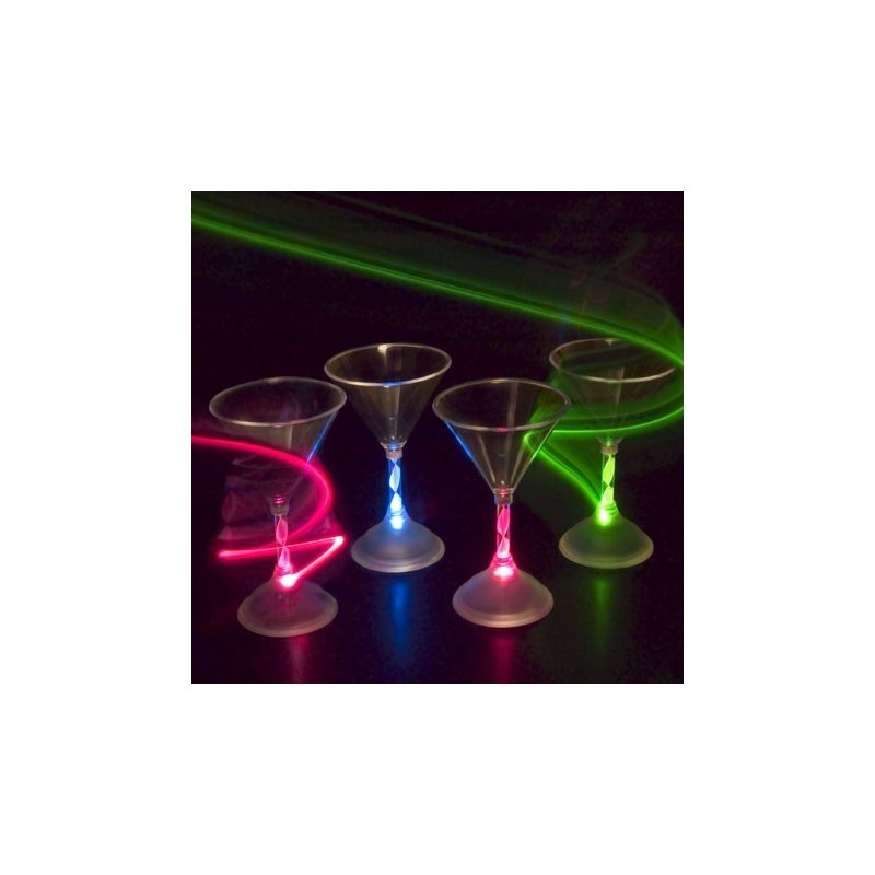 Flashing Cocktail Glasses