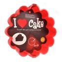 I Love Cake - Baking Mould