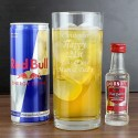 Personalised - Vodka and Red Bull Gift Set