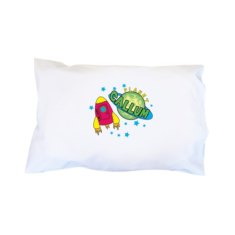 Personalised - Space Pillowcase