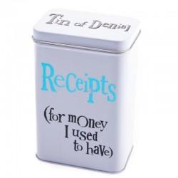 Receipt Tin (Of Denial)