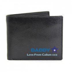 Personalised -  Blue Worlds Best Dad Wallet