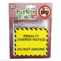 Penalty Charge Notice - Parking Prank