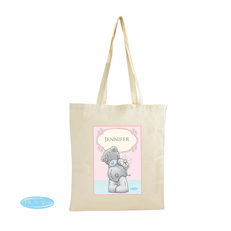 Personalised - Me To You Daisy Cotton Bag