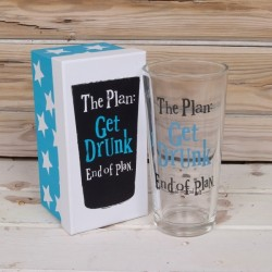 The Plan: Get Drunk. End Of Plan.