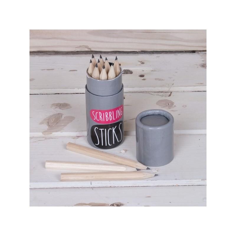 Scribbling Sticks 12 Pencils