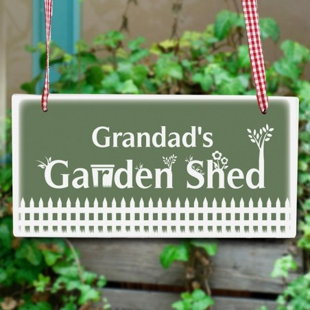 Personalised - Garden Shed Wooden Sign