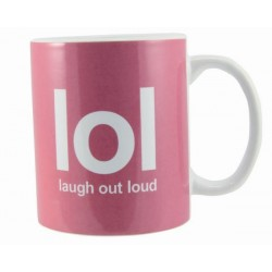 Text Speak Mug - LOL