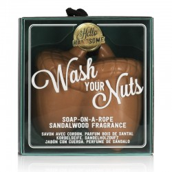 Wash Your Nuts Soap On A Rope