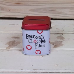 Emergency Chocolate Fund Tin
