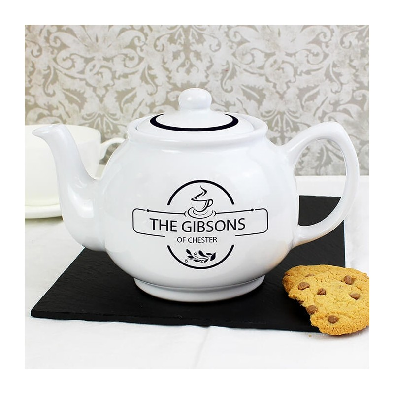Personalised - Full Of Love Teapot