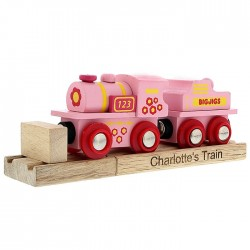Personalised - Wooden Tractor And Trailer Toy