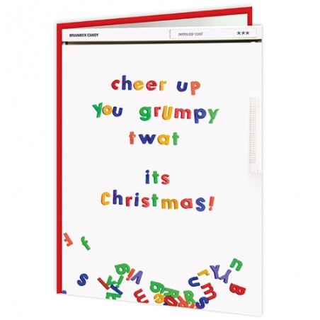 Christmas Titles - Grumpy Twat