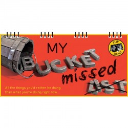 "Bucket """"Missed"""" List Flip Book"