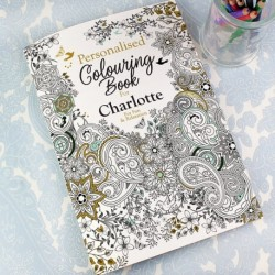 Personalised - Colouring Book For Adults