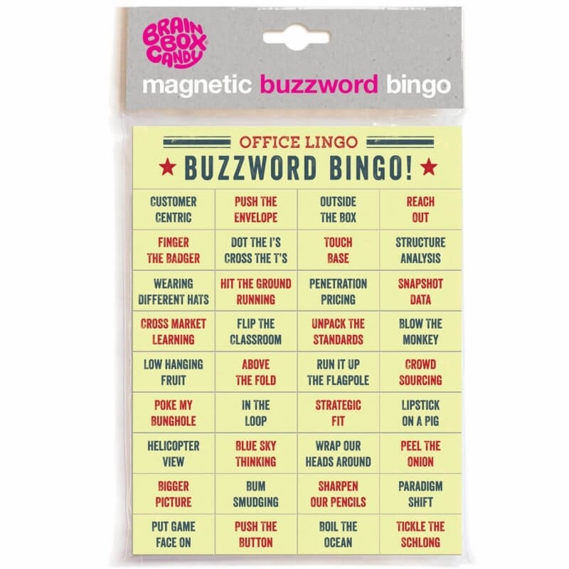 Buzzword Bingo Magnetic Words