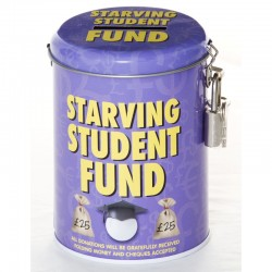 Starving Student Fund Tin