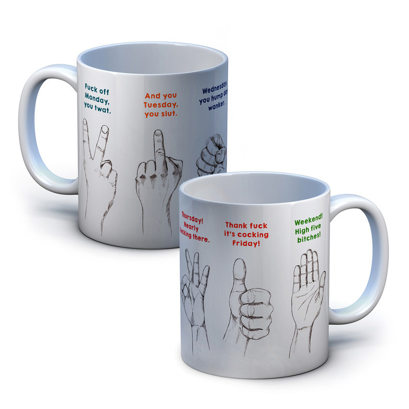 Handy Week Guide Mug