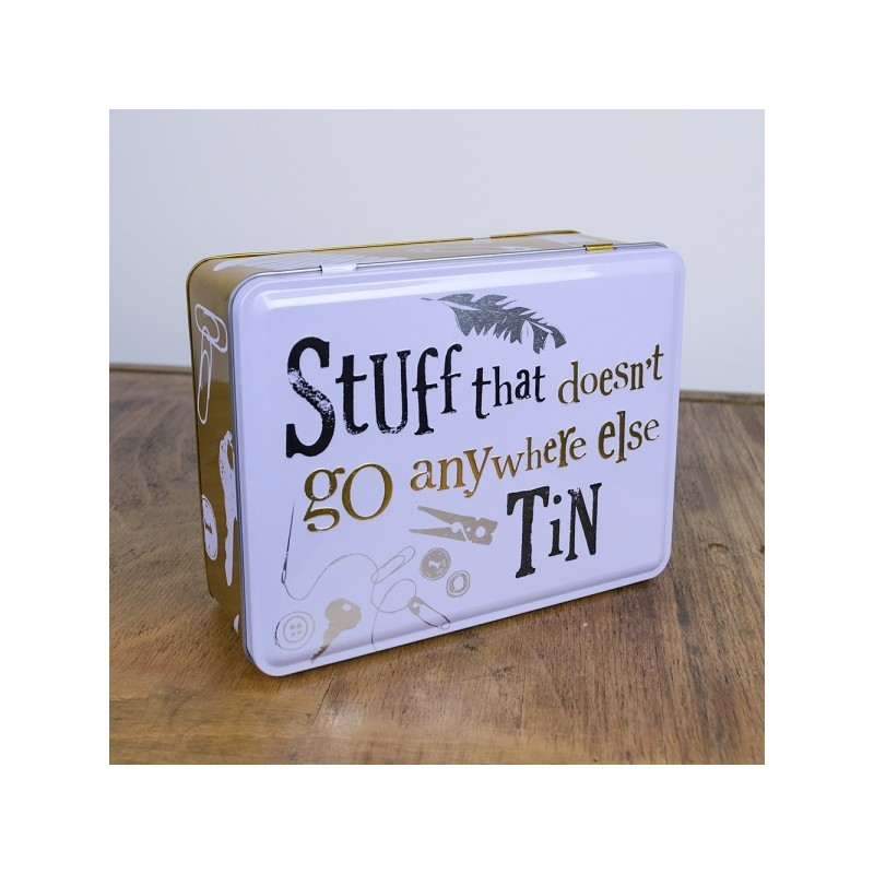 Stuff That Doesn't go Anywhere Else Tin