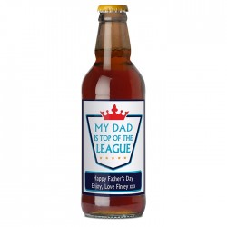 Personalised - Top of the League Beer
