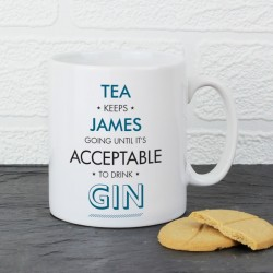 Personalised - Acceptable To Drink Mug