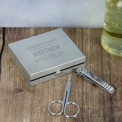 Personalised- Handsome Hands Manicure Set