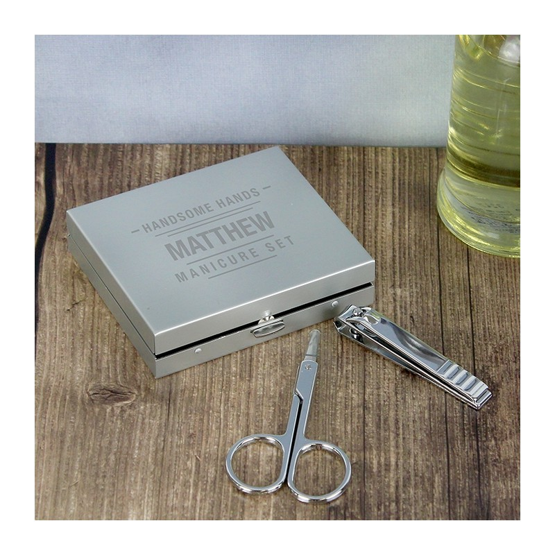 Personalised- Handsome Hands Manicure Set