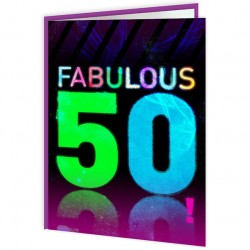 Age Cards - Fabulous 50!