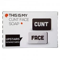 Cunt Face Soap