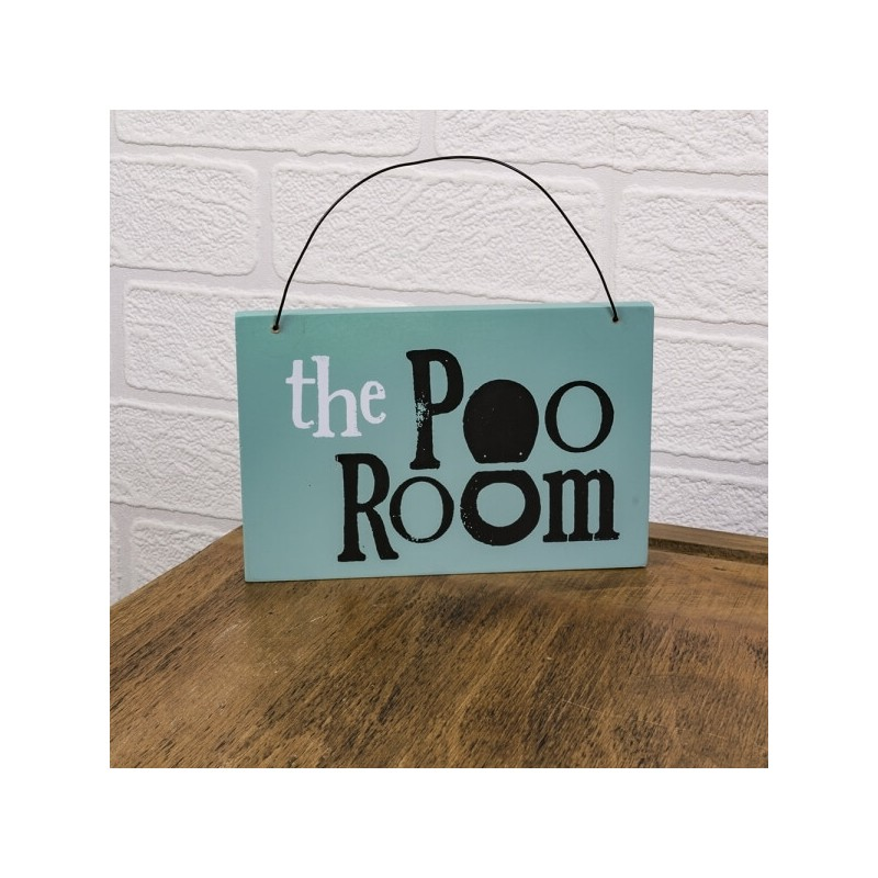 Bathroom Sign - Poo Room