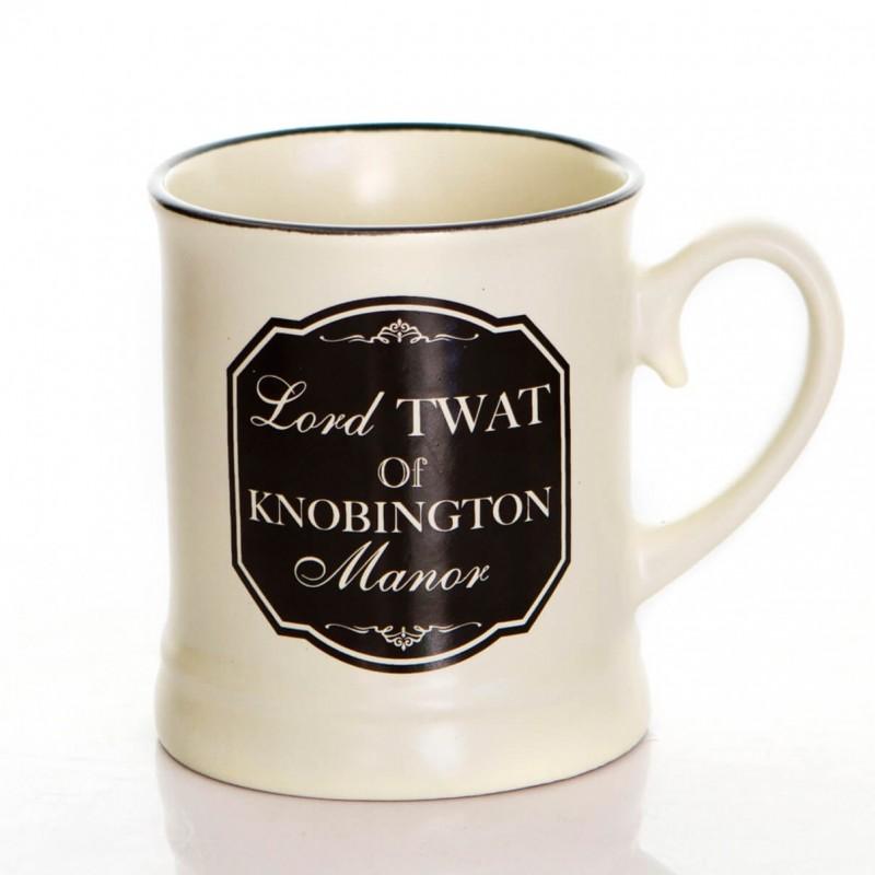 Lord Tw*t - Rude Mug