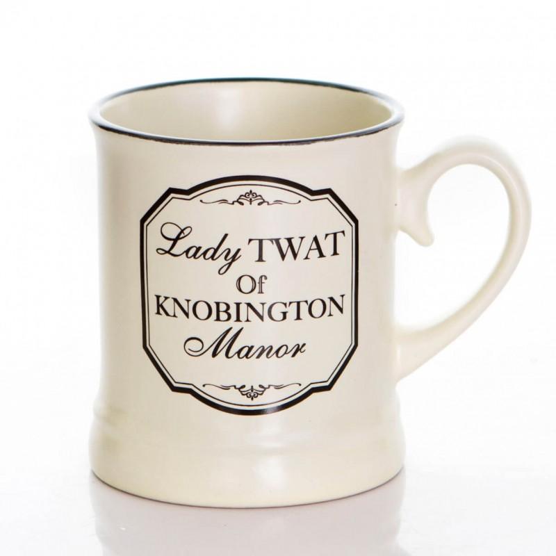 Lady Tw*t - Rude Mug