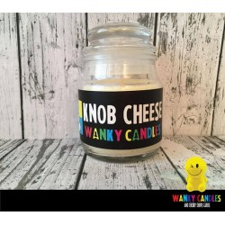 Rude Novelty Candles - Knob Cheese