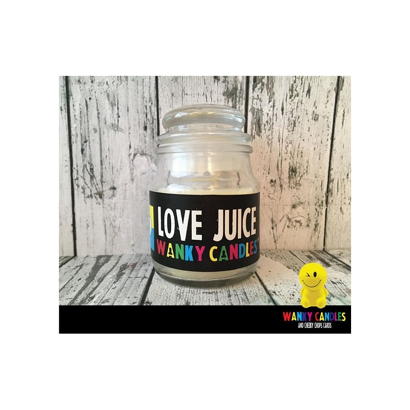 Rude Novelty Candles - Love Juice