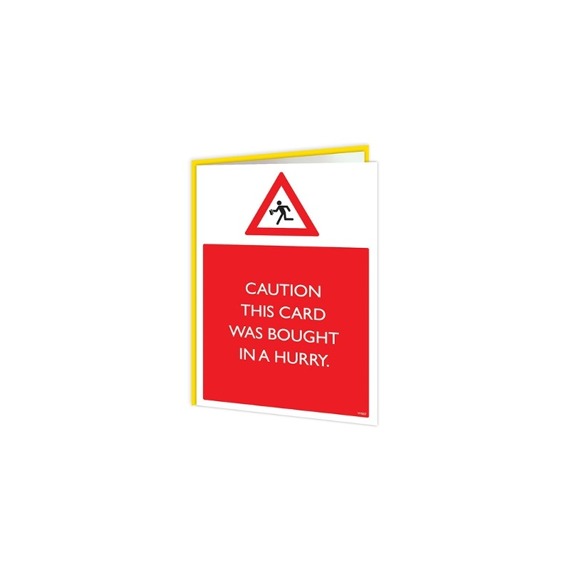Warning Cards - Hurry