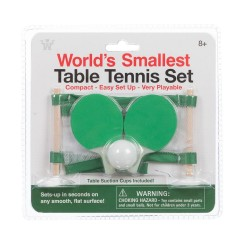 Worlds Smallest! - Table Tennis