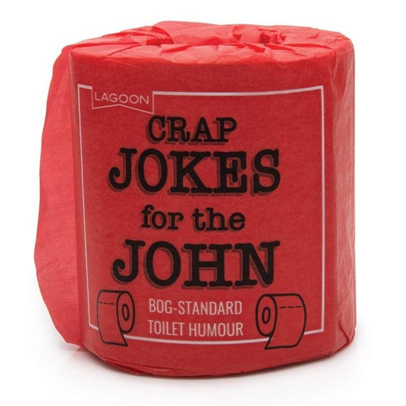 Crap Jokes For The Can Loo Roll