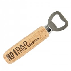Personalised No.1 Wooden...