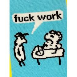 Fuck Work Socks