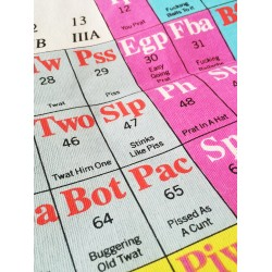 Periodic Table of Swearing...