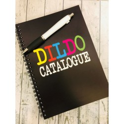 Dildo Catalogue Notebook...